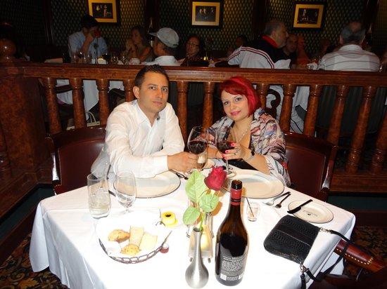 Bally's Steakhouse: Nice dinner