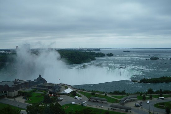 Niagara Falls Marriott Fallsview Hotel & Spa: this is the view from 11th floor room