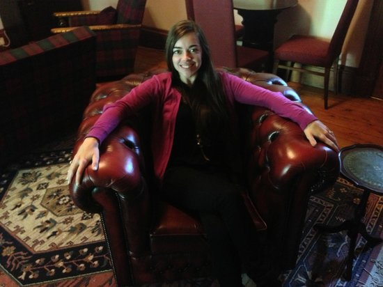 Columba House Hotel : Cozy chair!