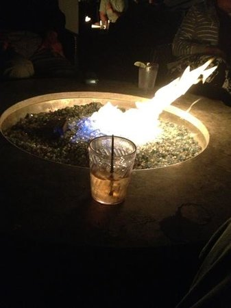 Firepit and Jack Daniels at night. Perfect.