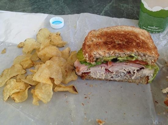 Bolton Valley, VT: Turkey Bacon Tuna Sandwich