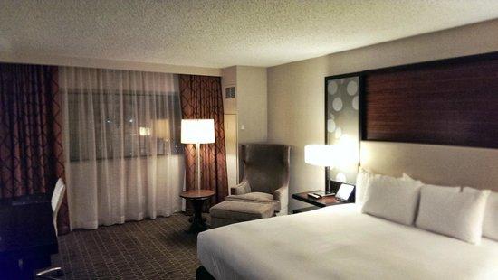 Hilton Atlanta Airport: Room on 14th floor