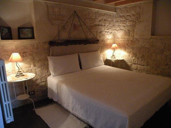 Villa Quartarella: la camera matrimoniale