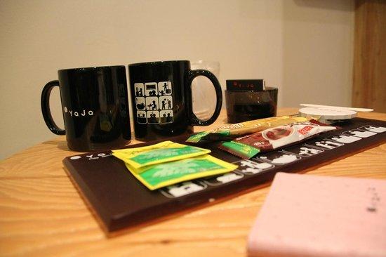 Hotel Yaja Seomyeon 1: Coffee corner