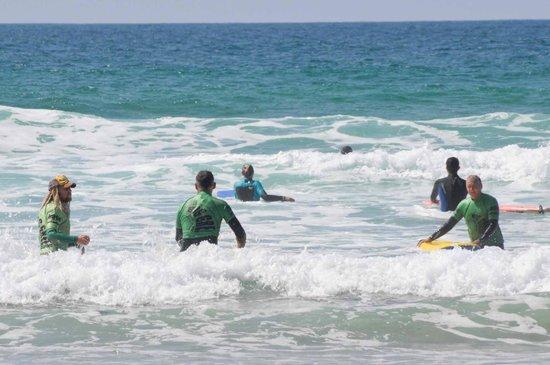 Big Green Surf School: Fistralbeach Newquay