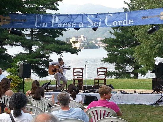 Osteria di San Giulio: concerto nel parco