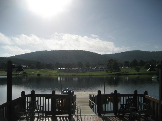 Rocky Gap Casino Resort: view of the dock