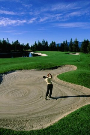 Bighorn Meadows Resort: On the Springs Golf Course!