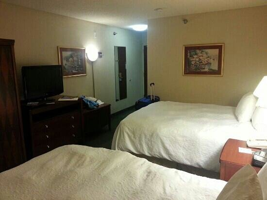 Hampton Inn Colorado Springs Airport: Room 216