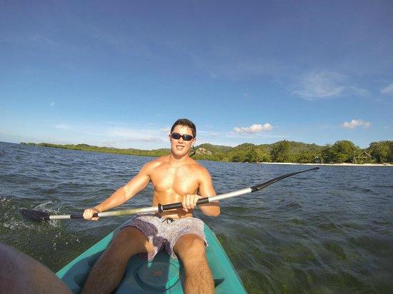 Hobbies Hideaway: kayaking off Sandy Bay Point