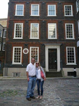London Tavern Trails: Dr. Johnson's home