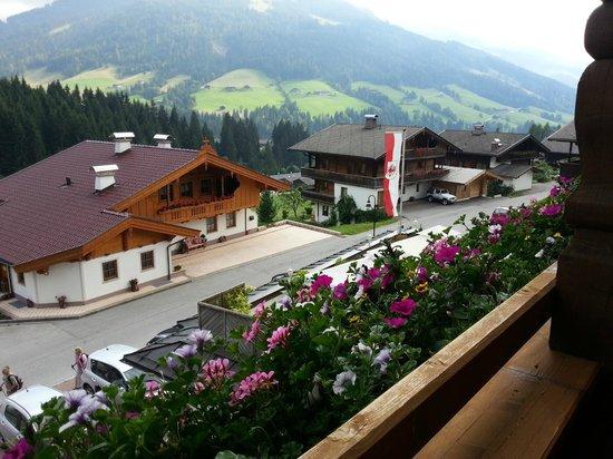 Hotel Alphof: Utsikt från balkongen.