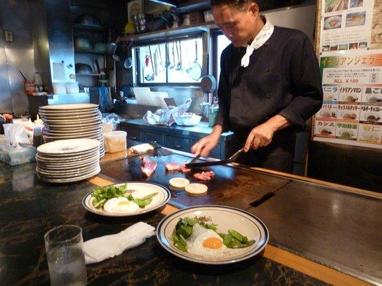 Steak House Aiyu : Our Chef