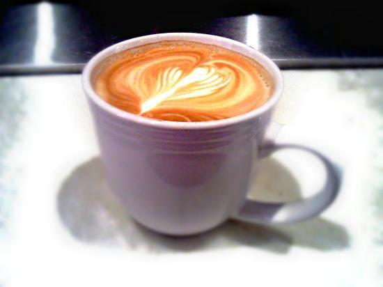 The Bagel Shop: Latte