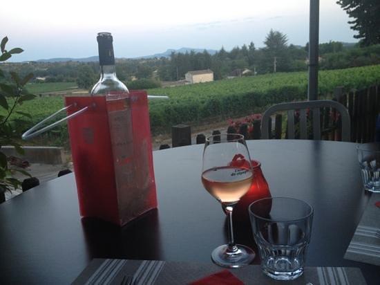 La Vineria : vu sur le vignoble !