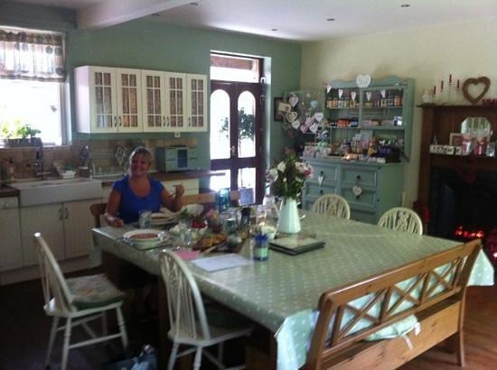 Coach House Healing Centre: birthday girl enjoying her gorgeous lunch!