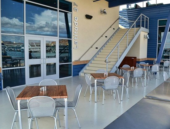 Latitude 37: Entrance to Upper Deck and Restaurant