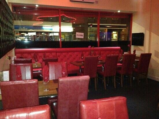 Red Rose Restaurant: new look