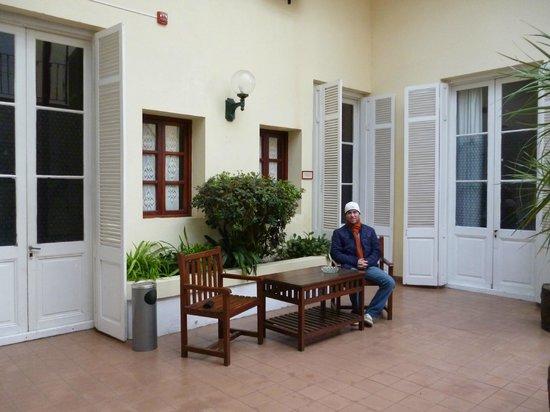 Hotel Posada del Virrey: Patio