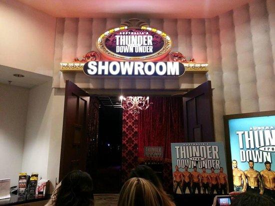Australia's Thunder from Down Under : Thunder Showroom