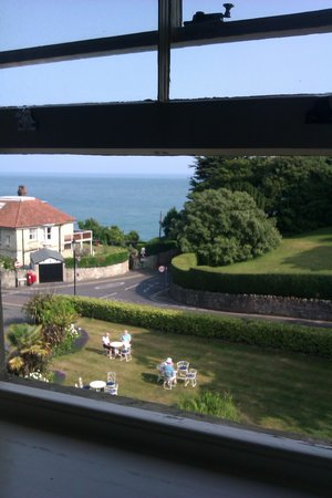 The Royal Hotel: view from room 47