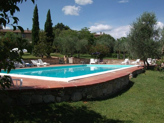 Fattoria Argiano in Chianti pool