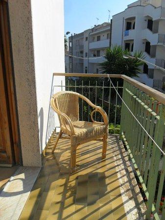 Hotel Il Gabbiano: balcone