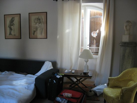 Le Bibion : One of the bedrooms