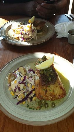 The Shack: skate fish special