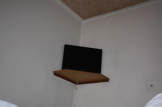 Hotel Ameiserhof: ok schermo piatto ma no il supporto fisso