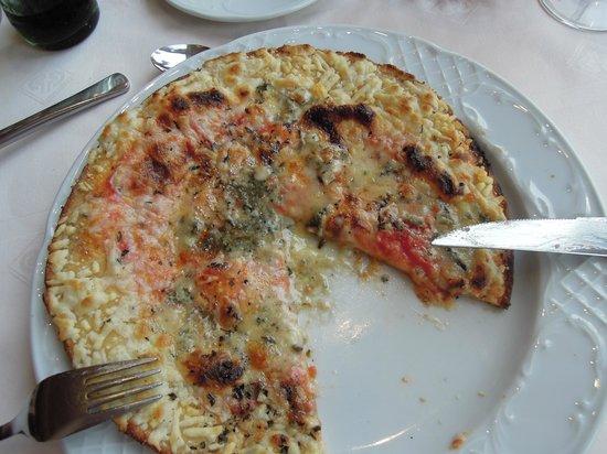 Protur Sa Coma Playa Hotel & Spa: Tiefkühlpizza beim Italiener