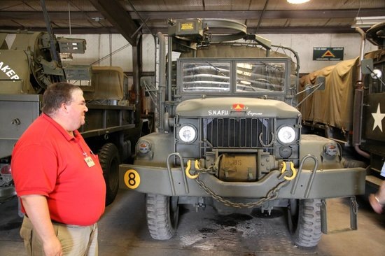 M35a2 With Quadmount Picture Of Military Museum Of Texas