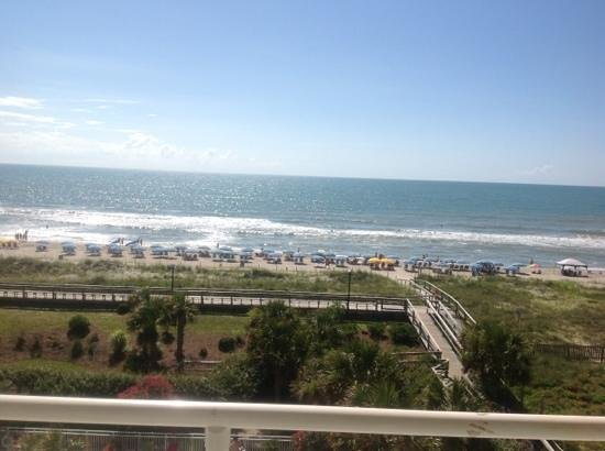 Courtyard by Marriott Carolina Beach: View from 4th floor