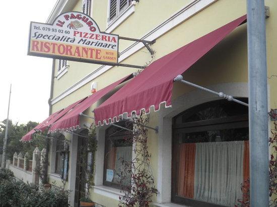 Fertilia, Italia: ristorante pizzeria il PAGURO