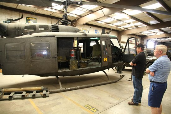 Military Museum of Texas: The Huey