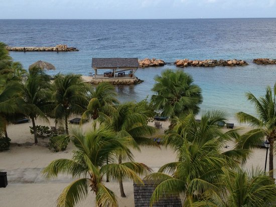 View from our room picture of lions dive beach resort - Lions dive resort curacao ...