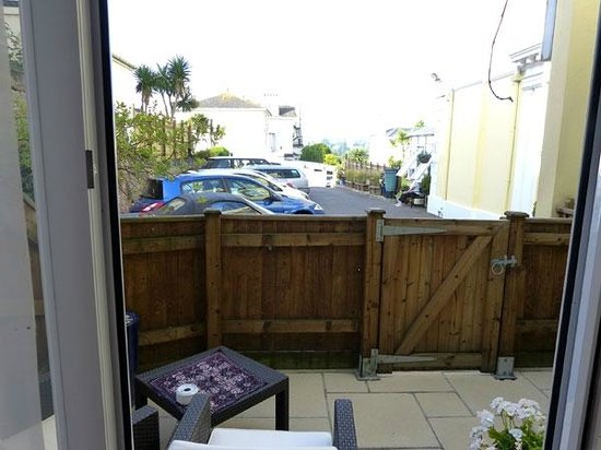 Riviera Lodge Hotel Torquay : Furnished Private Terrace