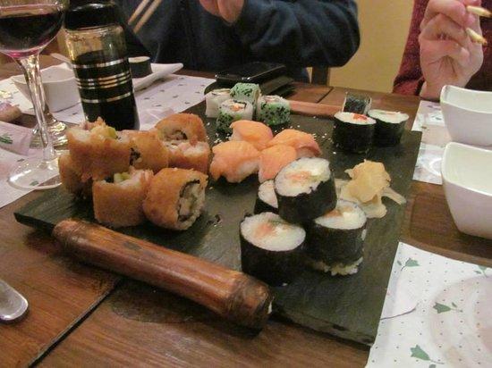 Wiki sushi: delicious sushi