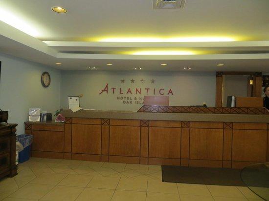 Atlantica Oak Island Resort & Conference Centre : Front desk