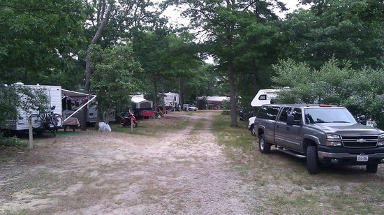 Atlantic Oaks Campground: Typical street