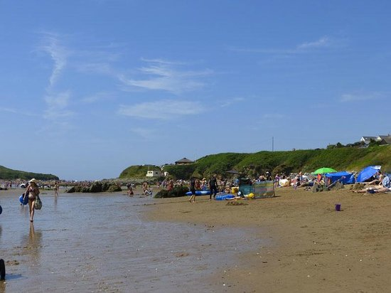 Bigbury-on-Sea Beach : More or less mud,