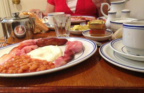 Jesmond Dene Hotel: Full English Breakfast w/ Coffee, Tea or Juice.