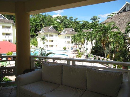 Mystic Ridge Resort : View from the June Plum restaurant