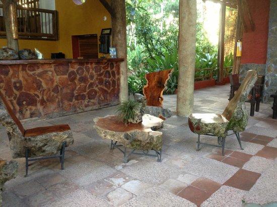Hotel Del Campo : Todo en madera