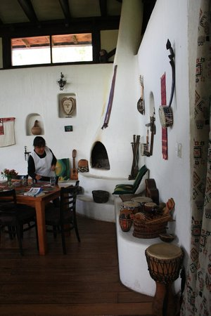 Casa Mojanda: a selection of instruments for anyone to play (and play they did)
