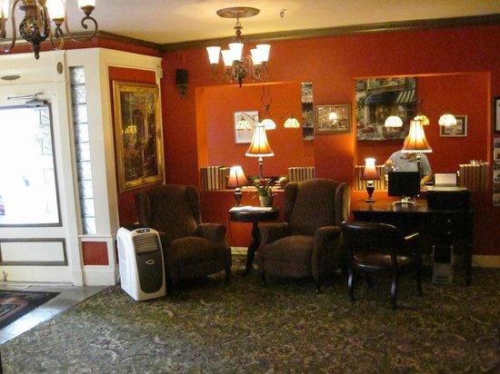 Inn at St. John: Lobby view