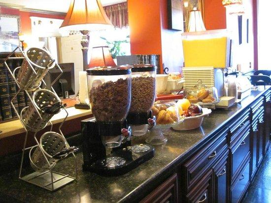 Inn at St. John: Breakfast offerings