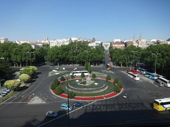 The Westin Palace Madrid: view from our room