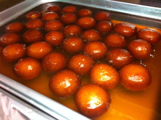 Taj Restaurant : Delicious Gulab Jamun