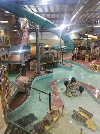 Double JJ Resort: The indoor water park at the JJ Frontier.